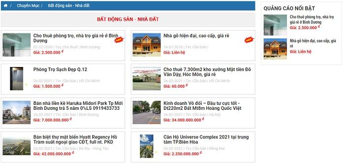 Cách đăng tin bán bất động sản online hiệu quả