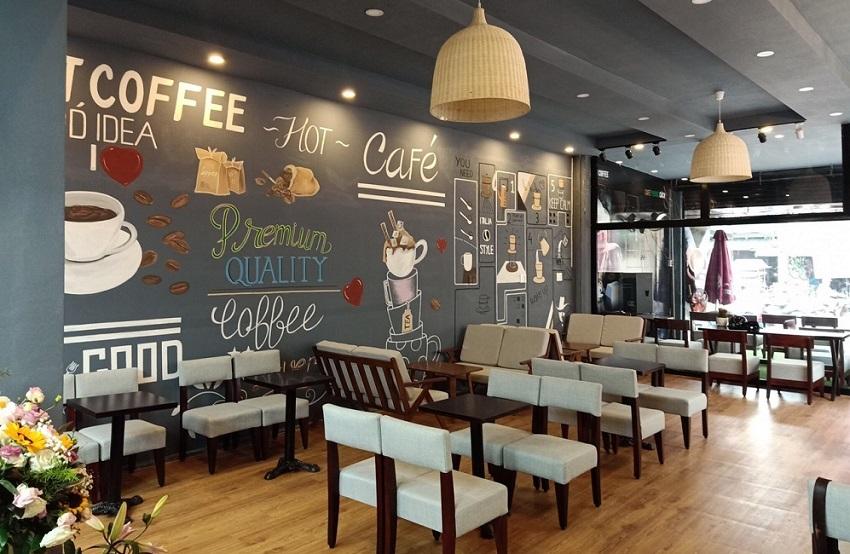 Chi phí mở quán cà phê khoảng bao nhiêu tiền?