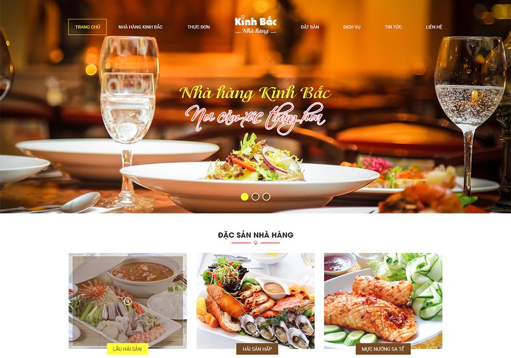 Công ty thiết kế website nhà hàng ẩm thực giá rẻ ở đâu?