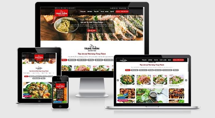 Công ty thiết kế website nhà hàng uy tín ở đâu?