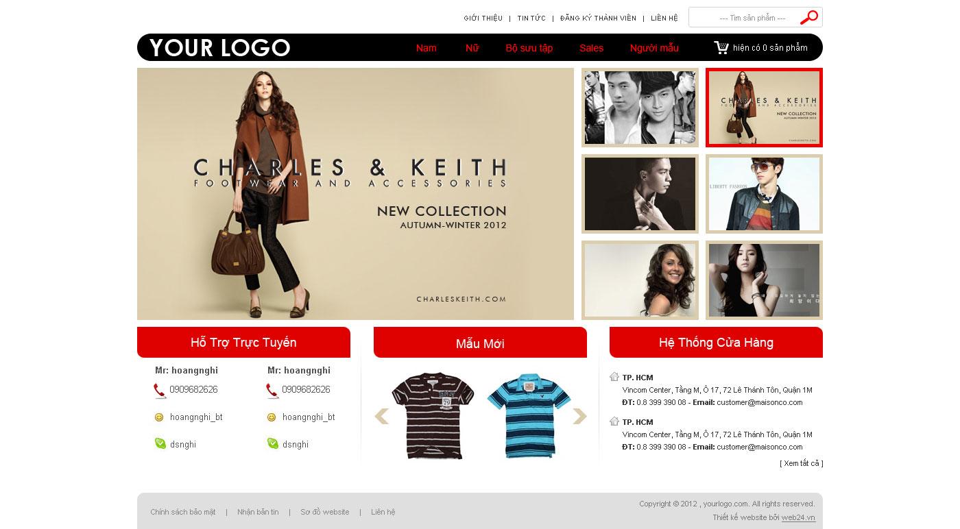 Công ty thiết kế website thời trang giá rẻ ở đâu?