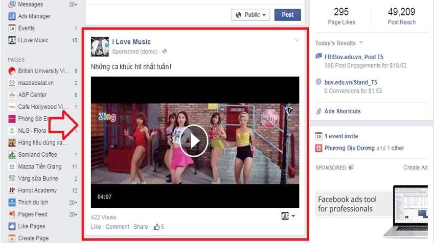 Marketing Facebook hiệu quả