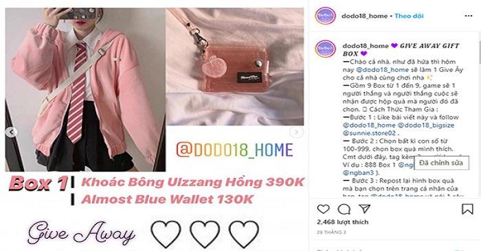 Mẹo bán quần áo online thu hút khách