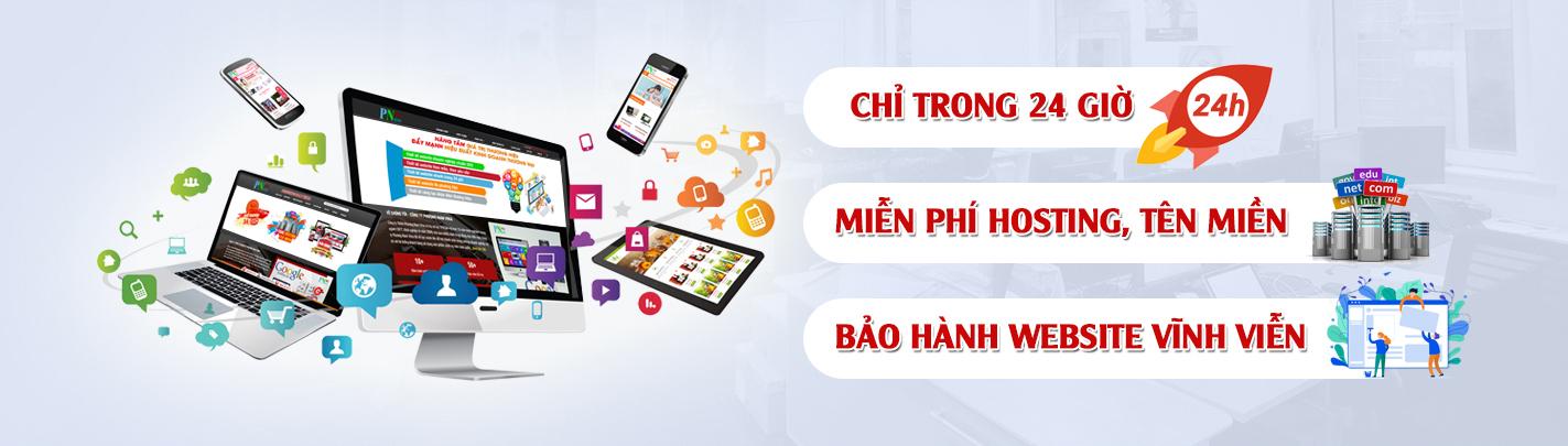 Thiết kế web quận Tân Bình