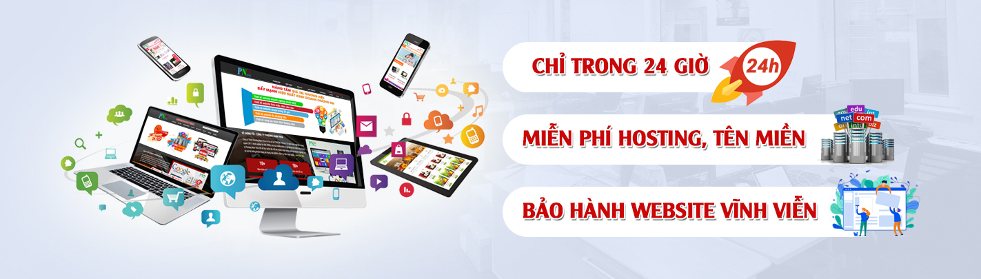 Thiết kế web quận Tân Phú