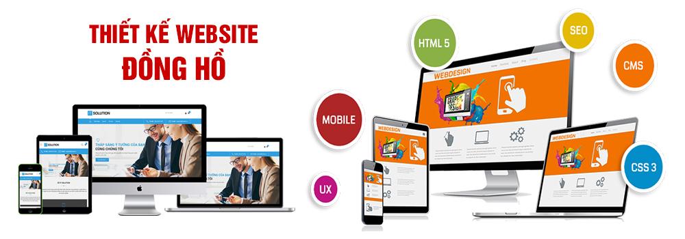 Thiết kế website đồng hồ