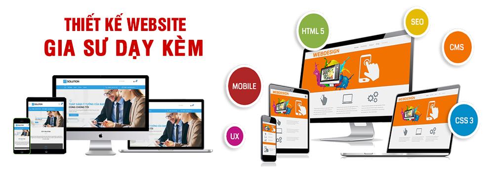 Thiết kế website gia sư dạy kèm