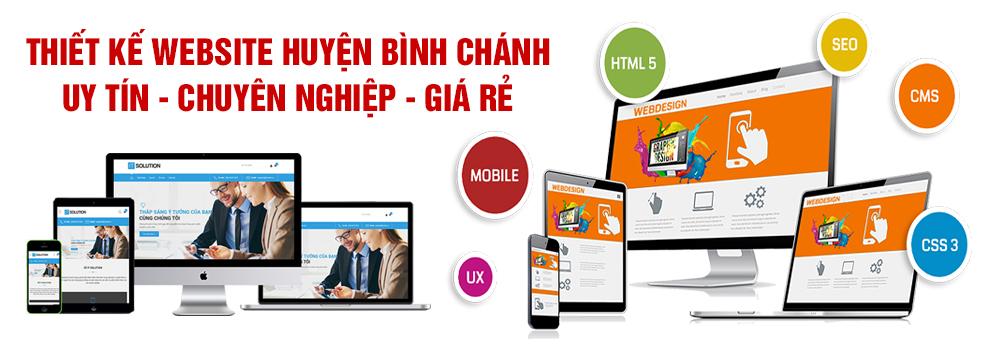 Thiết kế website huyện Bình Chánh