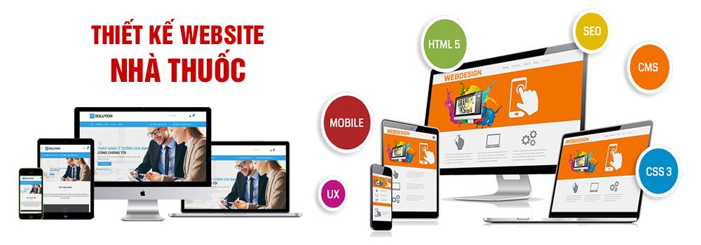 Thiết kế website nhà thuốc