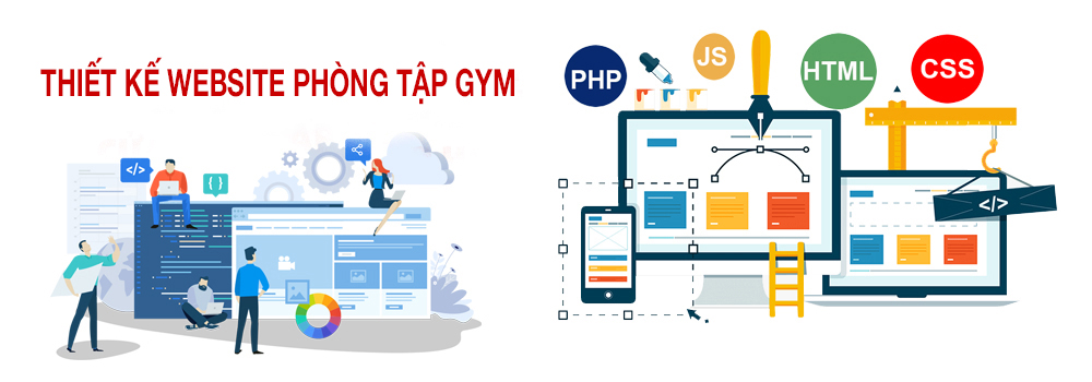 Thiết kế website phòng tập gym