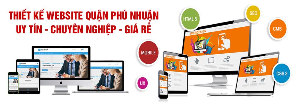 Thiết kế website quận Phú Nhuận