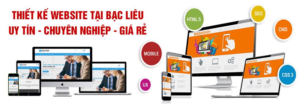 Thiết kế website tại Bạc Liêu