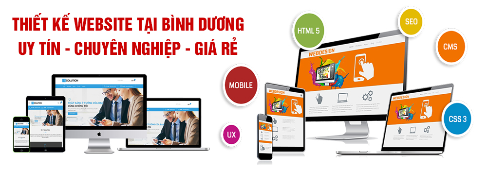 Thiết kế website tại Bình Dương