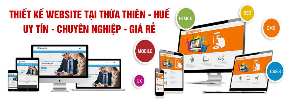 Thiết kế website tại Thừa Thiên - Huế