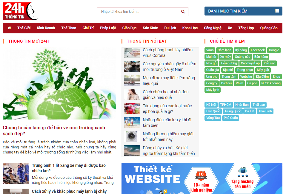 Trang web là gì?