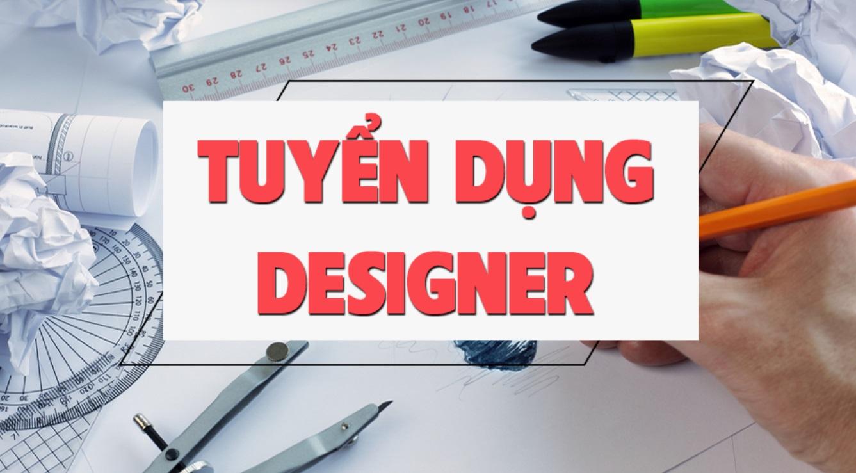 Tuyển nhân viên thiết kế designer