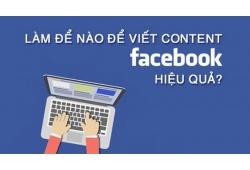 Cách viết content quảng cáo Facebook hay