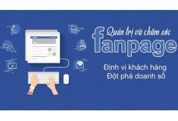 Quản trị fanpage Facebook