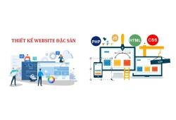 Thiết kế website bán đặc sản
