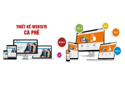 Thiết kế website cà phê