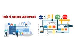 Thiết kế website game online