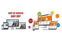 Thiết kế website giày dép