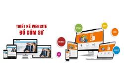 Thiết kế website gốm sứ