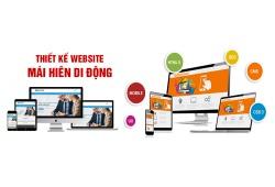 Thiết kế website mái hiên di động
