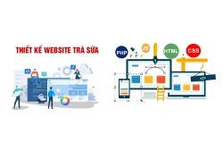 Thiết kế website trà sữa